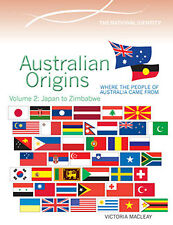 AUSTRALIAN ORIGINS VOLUME 2: JAPAN TO ZIMBABWE - BOOK  9780864271273