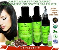 Rastarafi® Pure Jamaican Black Castor Oil Extra Dark/ Potent | Fast Hair Growth