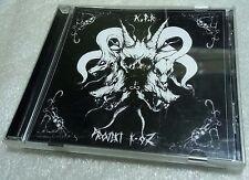 K.F.R / PROJEKT K-OZ Split CD Mutiilation Emit De Vermiis Mysteriis Enemite