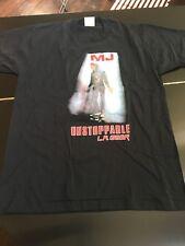 Michael Jackson Shirt Vintage 1990 LA Gear Unstoppable Tour T-Shirt, Rare