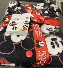 Mickey Mouse DISNEY Micro Fleece PAJAMAS XL