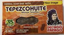Tepezcohuite Soap 4.4 for Skin Concerns Herbal /Jabon de Tepezcohuite