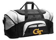 GREAT CHRISTMAS GIFT FOR A MAN Georgia Tech Duffel GT YELLOW JACKETS Gym Bag