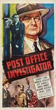 POST OFFICE INVESTIGATOR Movie POSTER 20x40 Frederick Stafford Jean Seberg Serge