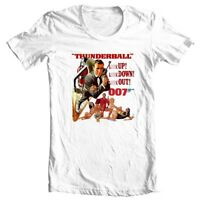 Thunderball t-shirt 007 Sean Connery original James Bond movie graphic tee