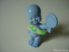 Les Babies / Figurine baby N°42 Mariette la coquette - bleu