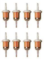 "8 Inline Gas Fuel Filter GKI VW312 6mm-8mm 1/4 x 5/16"" Universal Small Engine"