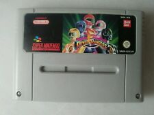Power rangers snes super nintendo PAL