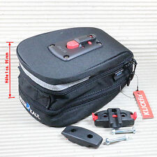 KLICKFIX SATTELTASCHE MICRO 200 Expandable 1,5 - 2,0 Liter schwarz Satteladapter
