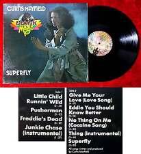 LP Curtis Mayfield: Black Magic - Superfly (Buddah M 201 717) D