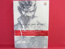 THE ART OF METAL GEAR SOLID analytics illustration art book