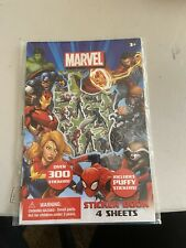 Marvel Stickers 4 Sheets