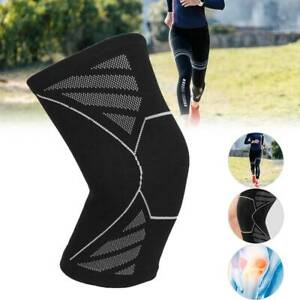 Elasticated Knee Support Knee Compression Brace Support Sport Workout Protection