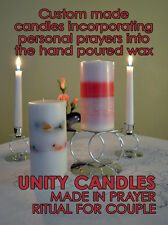 Magical Wedding Unity Candles, Handfasting Cord and Jumping the Broom HAND MADE