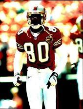Jerry Rice ~ SF 49ers ~ 8x10 Actual Photo ~ NFL Football ~ NOT A REPRINT ~ HOF