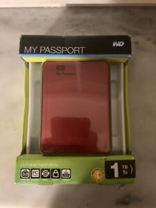 HARD DISK 1000 GB 1 TB WESTERN DIGITAL AUTOALIMENTATO WD MY PASSPORT USB 3.0