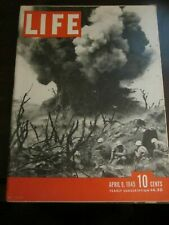 Life Magazine April 1945 Battle of Iwo Jima Bunkers GI's