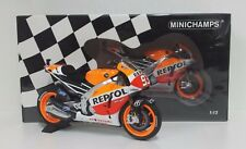 MINICHAMPS MARC MARQUEZ 1/12 #93 HONDA RC 213V WARRIORS OF THE WORLD CHAMPION