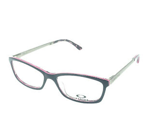 Oakley Womens Render Double R Black/Pink Eyeglasses OX1089-0353 (Brand New)