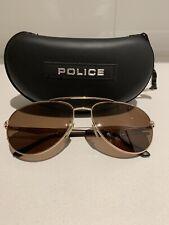 POLICE Brown men's AUTHENTIC Sunglasses