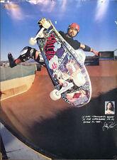 Rare 1980's Transworld Magazine Skateboarding Lester Kasai Poster Size 19