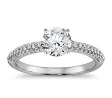 1.50 CT ROUND CUT SOLITAIRE DIAMOND ENGAGEMENT RING IN SOLID 14KT WHITE GOLD