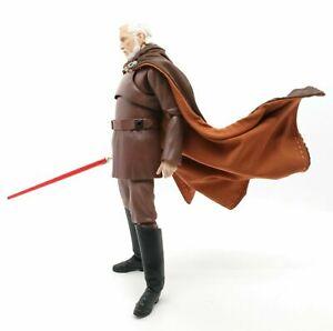 SU-C-DOKU: Fabric Cape for SHF Black Series Star Wars Count Dooku (No Figure)