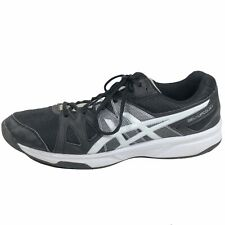 Asics Men's Gel-Upcourt Volleyball Shoes US Size 11.5 Athletic Black/White B400N