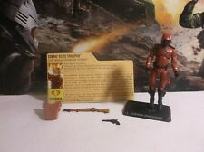 GI Joe Hasbro 25th Anniversary Cobra Elite Crimson Guard Trooper Figure