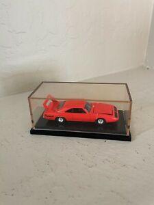 Hotwheels 100% 1:64 black box new in box 69 Plymouth Superbird orange