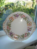 Paragon Country Lane Cake Plate Bone China 1st Quality Vintage British