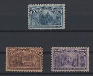 G136973/ UNITED STATES - COLUMBUS / Y&T # 81 – 85 / 86 MH CV 225 $