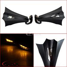 """7/8"""" LED Light Handguards Hand Guard Brush Bar For ATV Honda Yamaha KTM Kawasaki"""