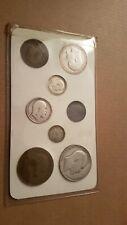 More details for king edward vii 1908 bronze & .925 silver coins - set of 8
