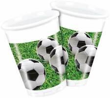 Fussball 8 Becher Plastikbecher Trinkbecher Einwegbecher Partybecher Fußball