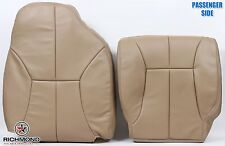 98-01 Dodge Ram 1500 -Passenger Side Bottom & Lean Back Leather Seat Covers Tan