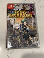 Giga Wrecker Alt Nintendo Switch Limited Run Brand NEW Platfomer Metroidvania🔥