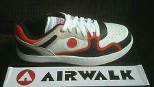 New UK Size 9 Airwalk Prototype 400F White Trainer Skater Shoes Footwear Sneaker
