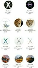 11   OS X  DVD BOOTABLE  DAL OSX  TIGER AL OSX MOJAVE MULTILINGUE. ~____~____~