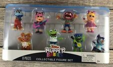 Disney Junior The Muppet Babies 8pc Figure Set - NEW