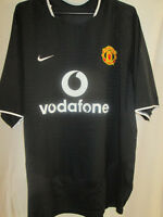 "Manchester United Utd 2003-2005 Away Football Shirt Large 42""-44"" chest / 9329"