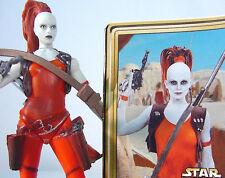 AURRA SING Bounty Hunter~ Mint Complete~ Star Wars~Power of the Jedi~ 2001~ POTJ