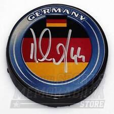 Dennis Seidenberg Boston Bruins Signed Autographed Team Germany Hockey Puck