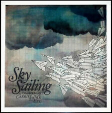 SKY SAILING An Airplane Carried Me Bed Ltd Ed Discontinued New RARE Litho Poster