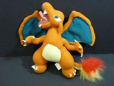 Vintage Pokemon CHARIZARD 8'' Plush Stuffed Animal Toy (1999)
