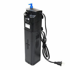 NEW DESIGN! 13W UV Sterilizer Adjustable Pump Filter 150 gal Aquarium Fish Tank