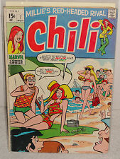Silver Age Marvel Comics Chili # 7 Millie Stan Lee G/Vg 1969