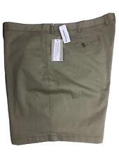 Tommy Bahama Mens Casual Shorts 50RG Khaki Cotton Tencel Spandex NEW
