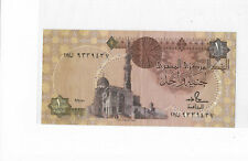 Central bank of Egypt 1 pound banknote circulated