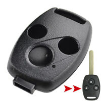 3 Button Remote Key Shell Replacement For Honda Accord Civic CRV Pilot S2000